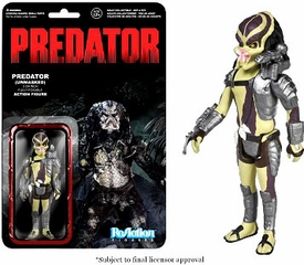 Predator Funko 3.75 Inch ReAction Figure Predator [Closed Mouth] Pre-Order ships September