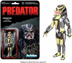 Predator Funko 3.75 Inch ReAction Figure Predator [Open Mouth] Pre-Order ships September