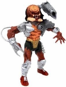 Predator Kenner Vintage 1993 LOOSE Action Figure Cracked Tusk Predator [with Firing Pulse Cannon]