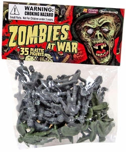 Previews Exclusive Figure 35 Count Bag Zombies At War