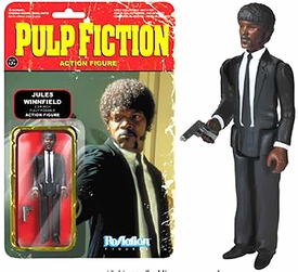 Pulp Fiction Funko 3.75 Inch ReAction Figure Jules Winnifield Pre-Order ships July