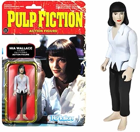 Pulp Fiction Funko 3.75 Inch ReAction Figure Mia Wallace Pre-Order ships August