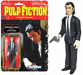 Pulp Fiction Funko 3.75 Inch ReAction Figure Vincent Vega Pre-Order ships October