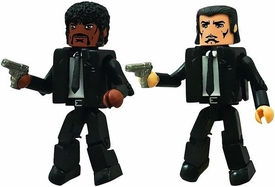 Pulp Fiction Minimate Mini Figure Set Jules & Vincent Pre-Order ships August