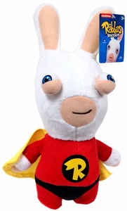 Raving Rabbids 12 Inch Series 2 Plush Figure Super Bwaaah Rabbid