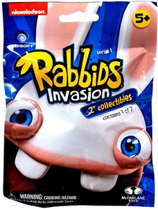 Raving Rabbids Invasion Mini Figure Mystery Pack [1 Random Figure]