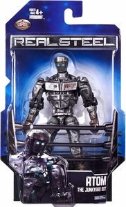 Real Steel Movie Series 1 DELUXE Action Figure Atom [Junkyard Bot]