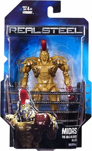 Real Steel Movie Series 1 DELUXE Action Figure Midas [Gold Blooded Killer]