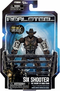 Real Steel Movie Series 2 BASIC Action Figure Six Shooter Hot!