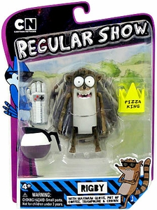 Regular Show 6 Inch Slack Pack Action Figure Rigby
