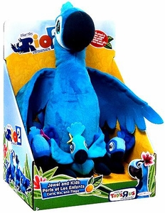 Rio 2 Movie Exclusive 12 Inch Plush Jewel & Kids [Carla, Bia & Tiago]