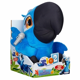 Rio 2 Movie 8 Inch Plush with Sound Blu