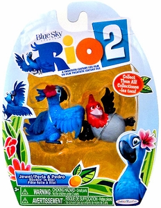 Rio 2 Movie Mini Figures 2-Pack Jewel & Pedro