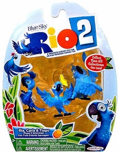 Rio 2 Movie Mini Figures 3-Pack Bia, Carla & Tiago