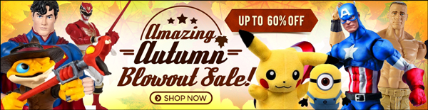 ToyWiz Autumn Blowout Sale