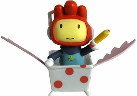 Scribblenauts 2 Inch Mini Figure Maxwell in Tub BLOWOUT SALE!