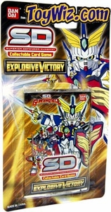 SD Gundam Force Collectible Card Game Explosive Victory Booster Pack BLOWOUT SALE!