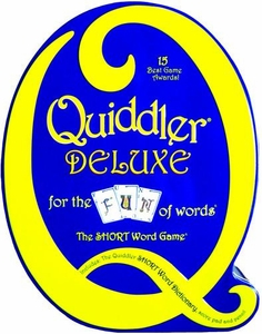 Set Enterprises Family Word Game Quiddler Deluxe
