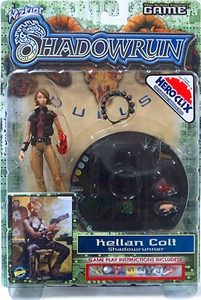 Shadowrun Duels Game Exclusive Series 1 Action Figure Kellan Colt