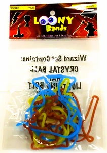 Shaped Rubber Bands Bracelets 12-Pack Wizard