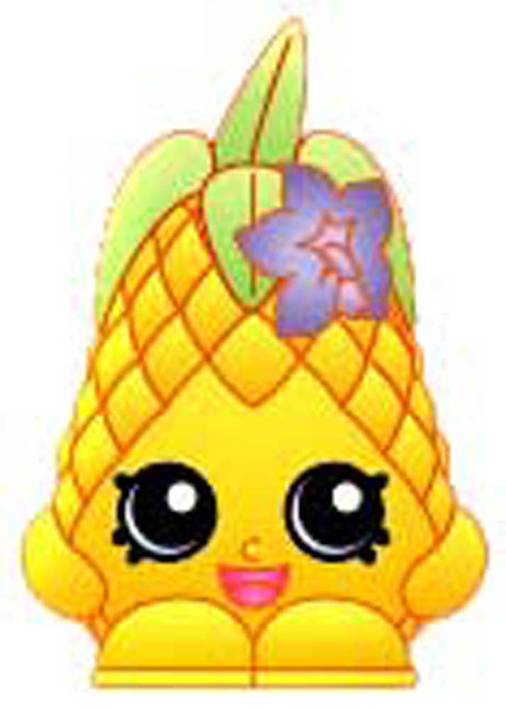 shopkins coloring pages pineapple crush - photo #30