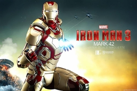 Sideshow Collectibles Marvel 1/4 Scale Maquette Statue Iron Man MK 42 Pre-Order ships February