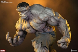 Sideshow Collectibles Marvel 1/4 Scale Premium Format Polystone Statue Gray Hulk Pre-Order ships January