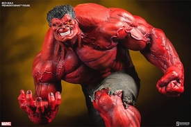 Sideshow Collectibles Marvel 1/4 Scale Premium Format Polystone Statue Red Hulk Pre-Order ships November