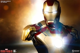 Sideshow Collectibles Marvel Iron Man 3 Life Size Bust Iron Man Mark 42 Pre-Order ships August