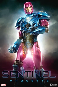 Sideshow Collectibles Marvel Maquette Statue Sentinel Pre-Order ships June
