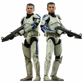 Sideshow Collectibles Militaries of Star Wars 1/6 Scale Action Figure Set Echo & Fives New!