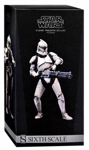 Sideshow Collectibles Militaries of Star Wars 1/6 Scale Deluxe Action Figure Veteran Clone Trooper