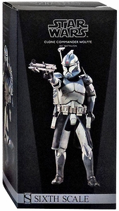 Sideshow Collectibles Militaries of Star Wars 12 Inch Deluxe Action Figure Clone Commander Wolffe