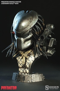 Sideshow Collectibles Predator Legendary Scale Bust Masked Hunter Pre-Order ships January