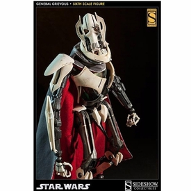 Sideshow Collectibles Star Wars Scum & Villainy 1/6 Scale Collectible Action Figure General Grievous