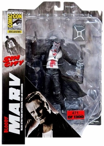 Sin City Diamond Select Toys 2014 SDCC Comic-Con Exclusive Series 1 Action FIgure Bloody Marv New!