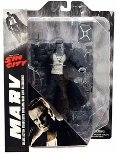 Sin City Diamond Select Toys Series 1 Action FIgure Marv New!