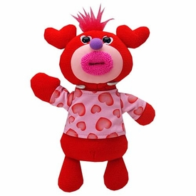 SingAMaJigs Plush Doll Valentine's Day Figure RED with Hearts Shirt [Let Me Call You Sweetheart]