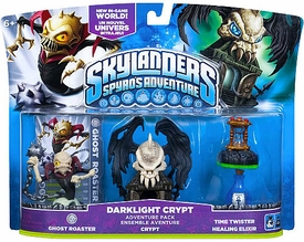 Skylanders Adventure Pack Darklight Crypt [Ghost Roaster, Crypt, Time Twister & Healing Elixir]