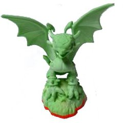 Skylanders Exclusive LOOSE Figure GLOW-IN-THE-DARK Cynder [Limited Edition]