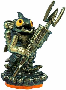 Skylanders GIANTS LOOSE Figure Metallic Green Gill Grunt