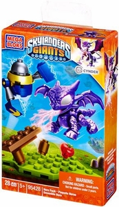 Skylanders Giants Mega Bloks Set #95428 Cynder Hero Pack