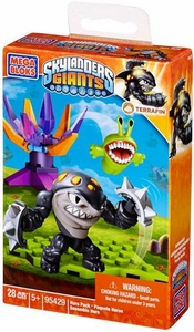 Skylanders Giants Mega Bloks Set #95429 Terrafin Hero Pack