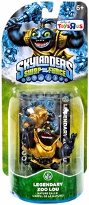 Skylanders SWAP FORCE Exclusive Figure Legendary Zoo Lou BLOWOUT SALE!