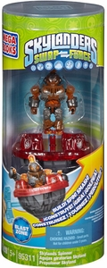Skylanders SWAP FORCE Mega Bloks Set #95311 Spinner Blast Zone [Battlling Top!] New!