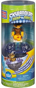 Skylanders SWAP FORCE Mega Bloks Set #95312 Spinner Rattle Shake [Battlling Top!]