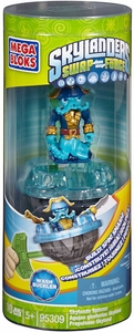 Skylanders SWAP FORCE Mega Bloks Set #95309 Spinner Wash Buckler [Battlling Top!]