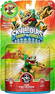 Skylanders SWAP FORCE Swappable Figure Jade Fire Kraken