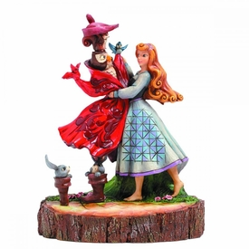 Sleeping Beauty Disney Traditions Carved By Heart Statue Princess Aurora Pre-Order ships July