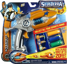 Slugterra Basic Blaster & Evo Dart ELI's Blaster 2.0 [Includes Code for Exclusive Game Items & Poster]